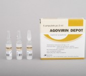 Agovirin Depot 50mg/amp (5 amp)