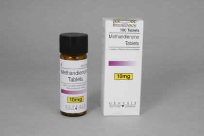 Methandienone comprimés 10mg (100 com)