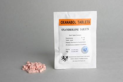 Oxanabol comprimés 10mg (100 com)