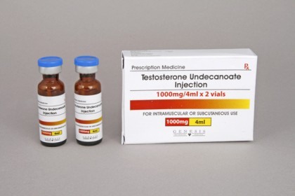 Testosterone Undecanoate injection 500mg/amp (2 amp)